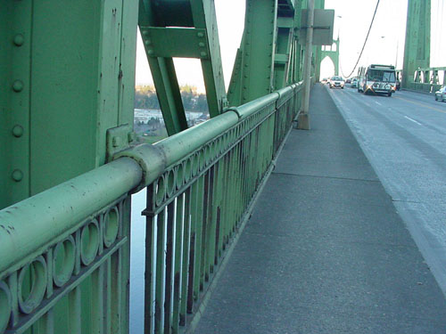 St. John's Bridge (Before)